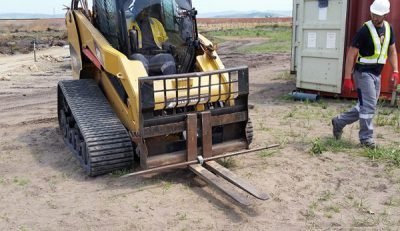 Helical Anchor pull test